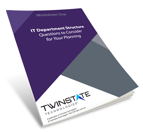 IT Department Structure Questions to Consider for Your Planning + Checklist Book