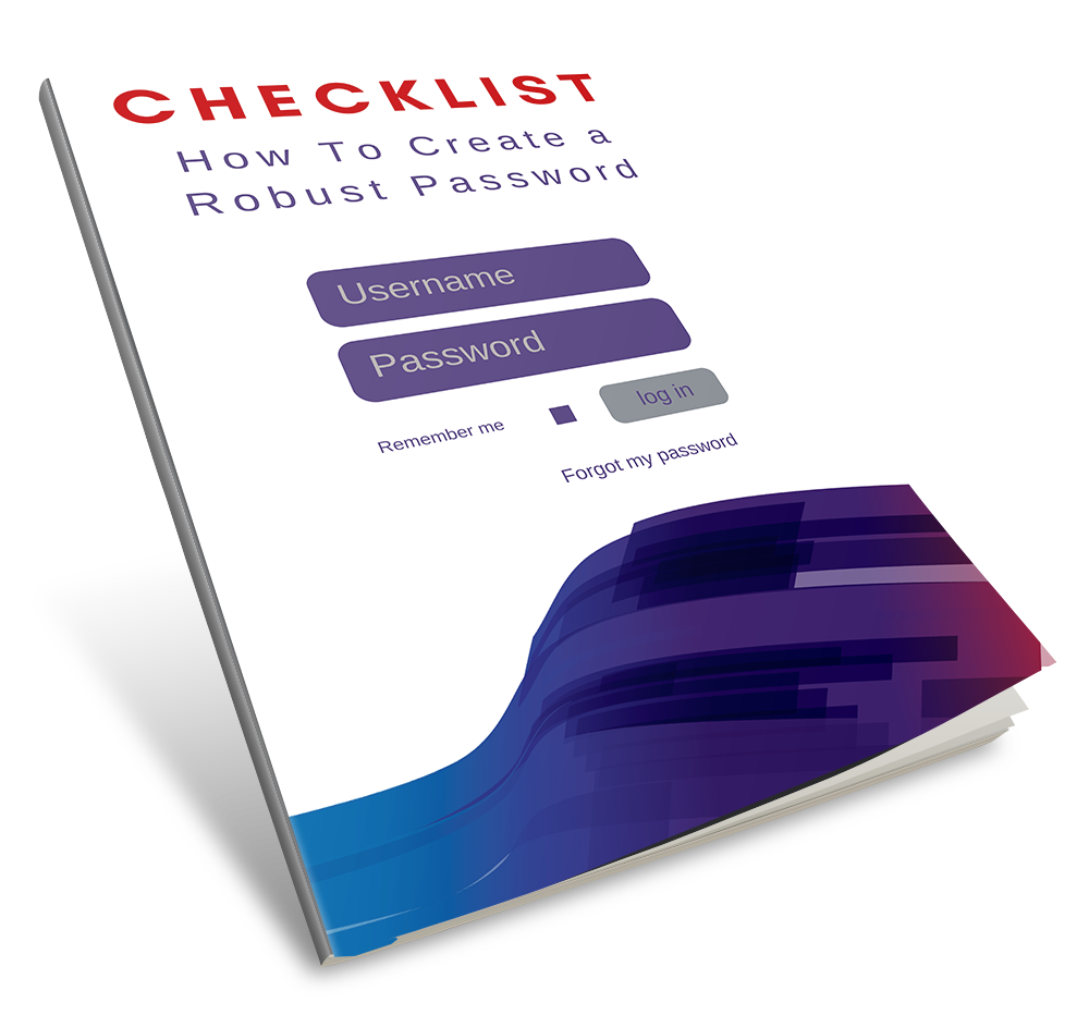 Checklist: How To Create a Robust Password Book